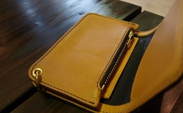 CALEE EMBOSSING LEATHER MINI WALLET 4.JPG