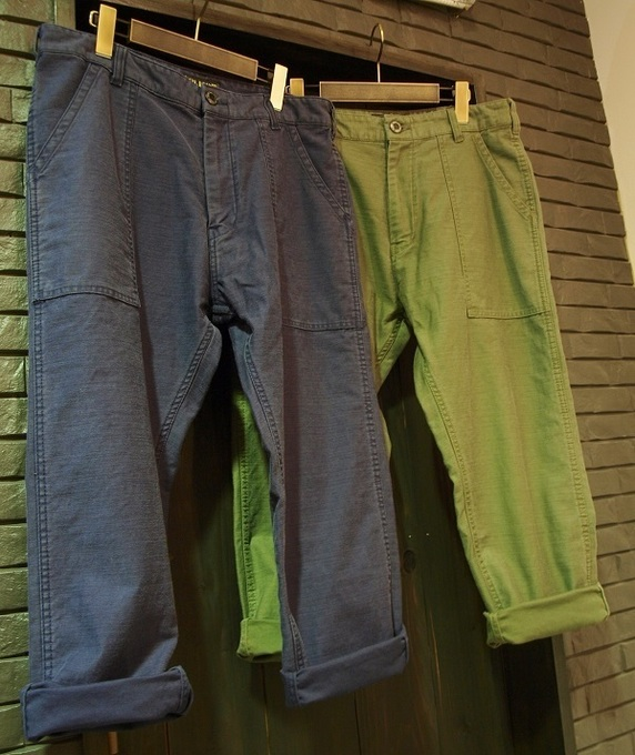 ones_cluct_MILTTARY ANKLE PANTS1.JPG